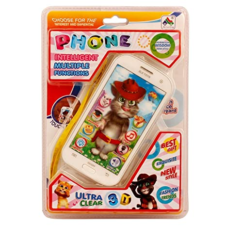 358eaa5c12c40 Buy BABY N TOYYS Talking Tom Interactive Learning Tablet (White and Black)  Online at Low Prices in India - Amazon.in