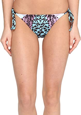 ca136d8f62e Mara Hoffman Women's Verbena Tie Bottom Sage Multi Swimsuit Bottoms