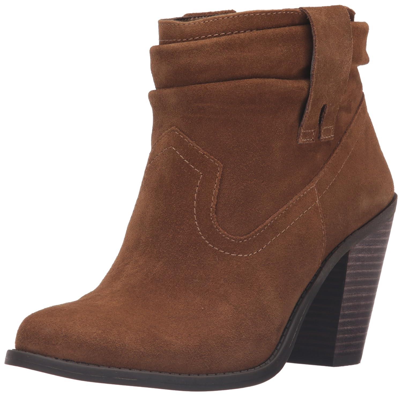 Jessica Simpson Women's Chantie Ankle Bootie B01DNINXUE 7.5 B(M) US|Canella Brown