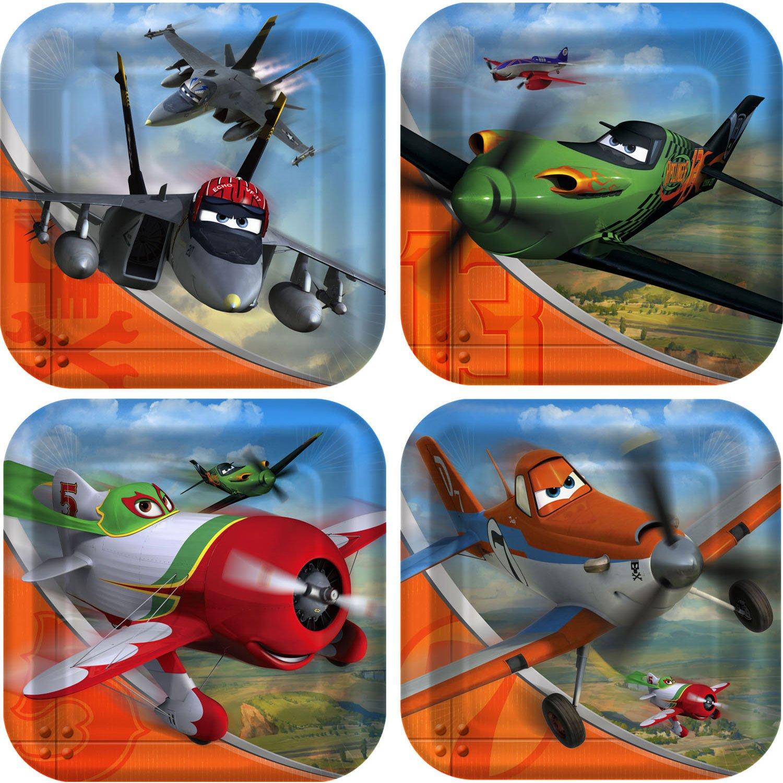 Disney Planes Small Paper Plates (8ct) 1DPA3888