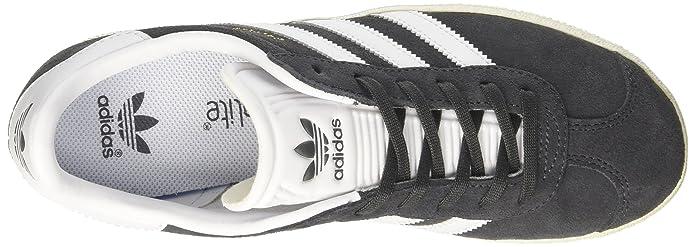 super popular 533bb f5b32 adidas Gazelle J, Formatori Bassi Bambino, Grigio (Dgh Solid Grey ftwr  White gold Met.), 36 EU  Amazon.it  Scarpe e borse