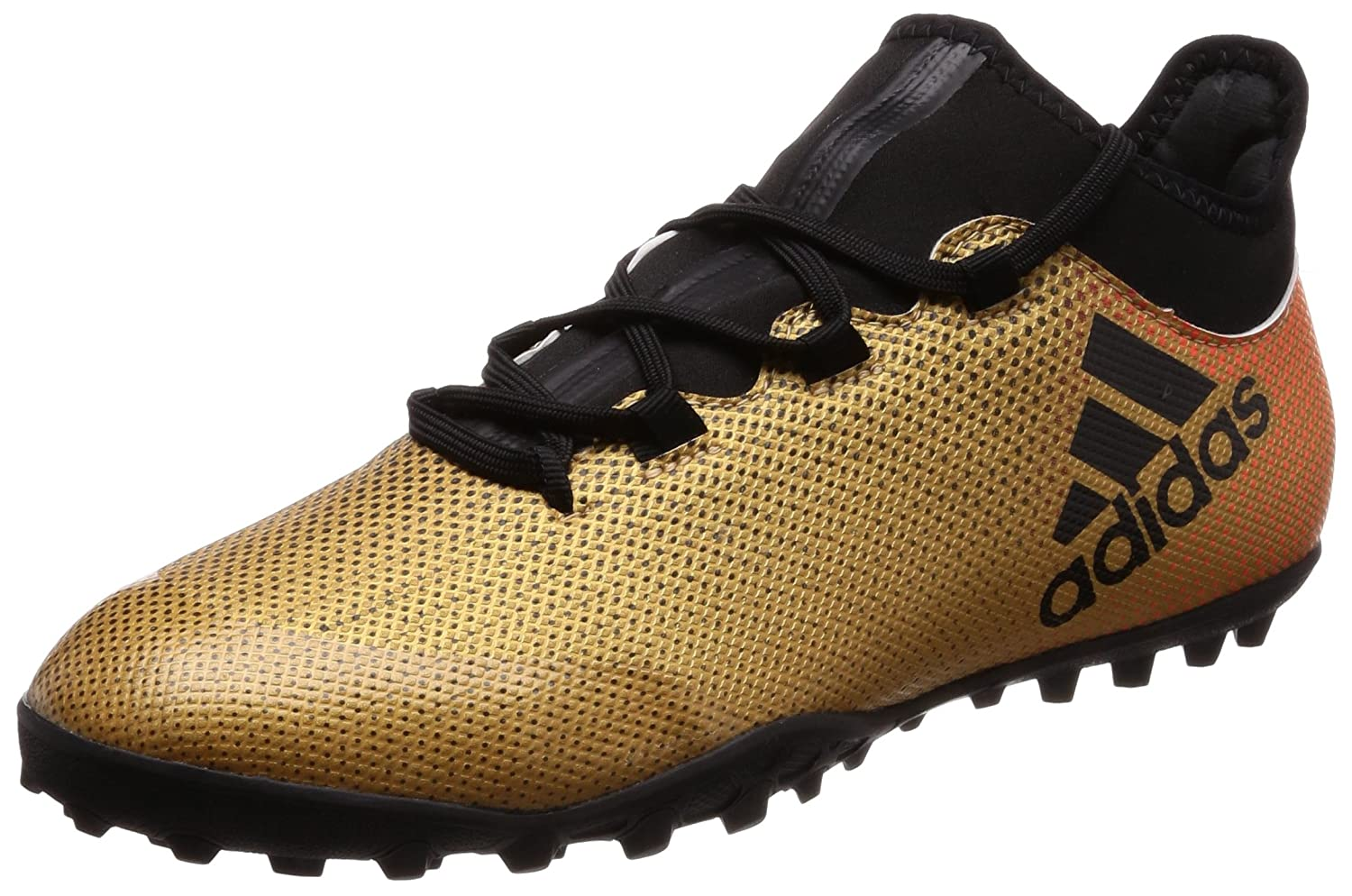 Adidas X Tango 17.3 TF, Chaussures de Football Homme Or (Tactile or Met. F17 Core noir Solar rouge) 42 2 3 EU