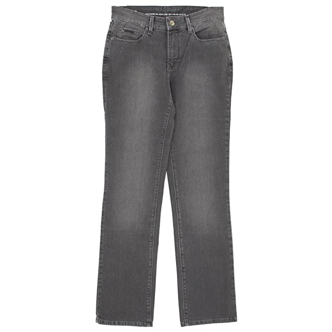 Mac, Melanie, Damen Jeans Hose, Stretchdenim, Grey Used, D