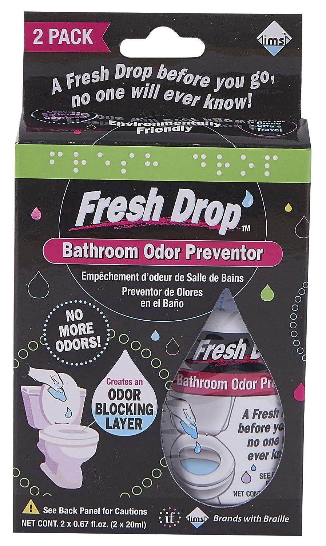 Fresh Drop - Preventor de Olor para baño (1 EA): Amazon.es: Hogar