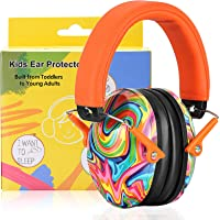 PROHEAR 032 Kids Ear Protection Safety Ear Muffs, NRR 25dB Noise Reduction Childrens Earmuffs, Adjustable Headband…