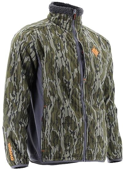 e58ad043e487f Nomad Men's Harvester Camo Hunting Jacket N4000042 (Mossy Oak Bottomland,  Small)