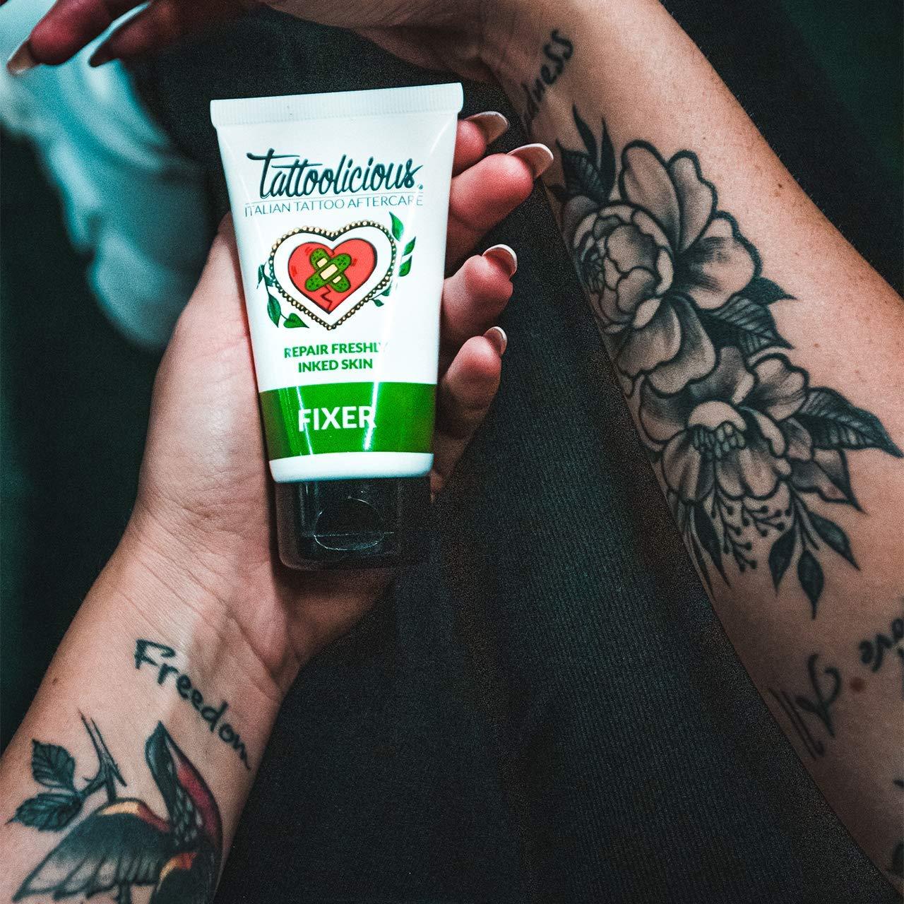 Tattoolicious FIXER - Crema Calmante para tatuajes recién hechos ...