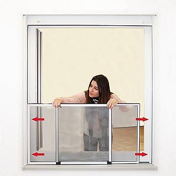 JAROLIFT Mosquitera extensible/Easy Slide para ventanas y puertas ...