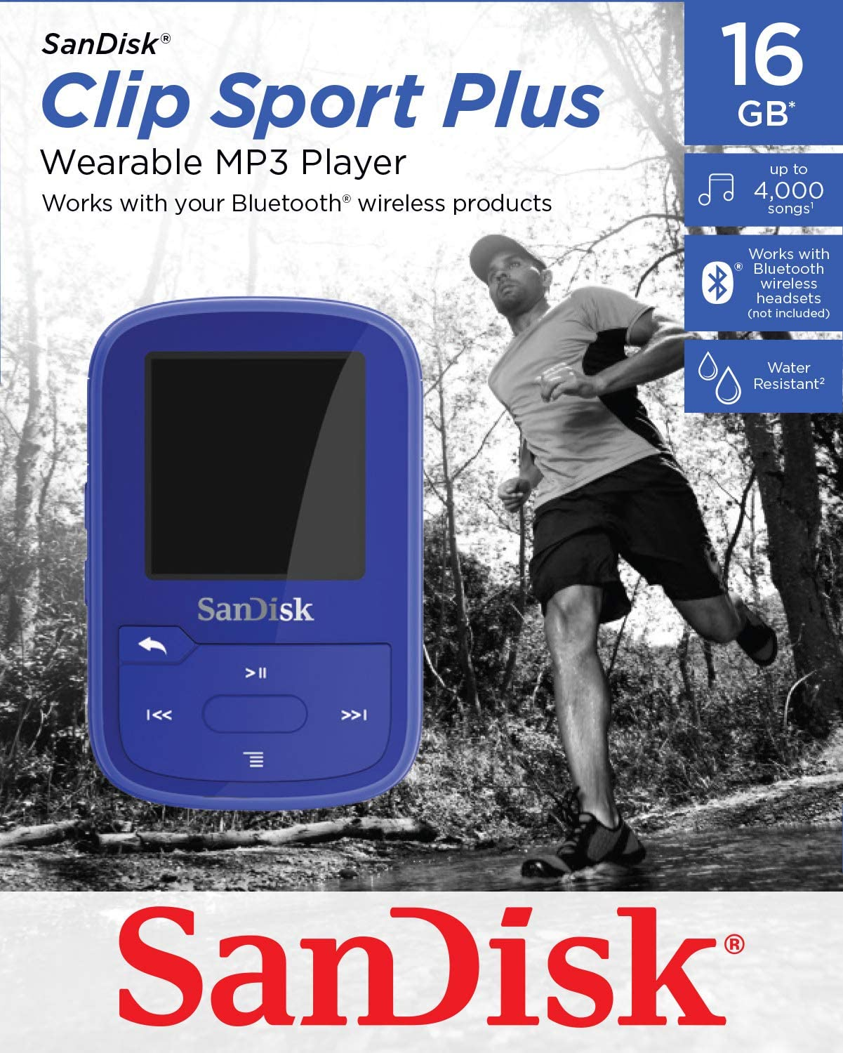 Sandisk Clip Jam 8gb 16gb Mp3 Hifi