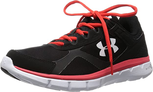 Under Armour UA Micro G Velocity RN GR - Zapatillas de running Hombre, Negro, EU 42 US 85: Amazon.es: Zapatos y complementos