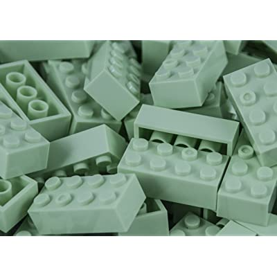 Imex 2x4 Stud Mint Compatible Bricks, 100pc: Toys & Games [5Bkhe1806160]