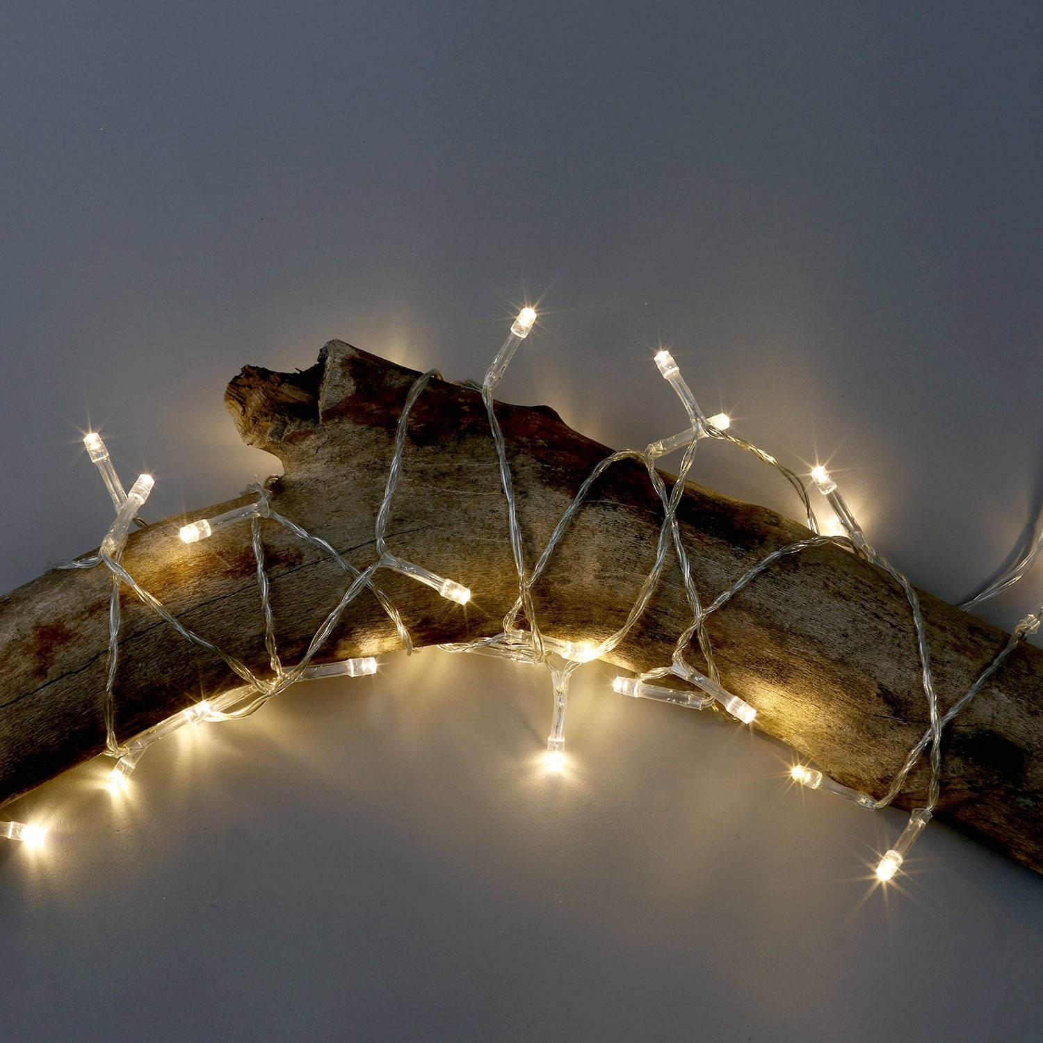 3 Pack Battery String Lights, 30 Warm White LEDs, 11 Ft. Strands, Batteries Included, Value Set by LampLust (Image #2)