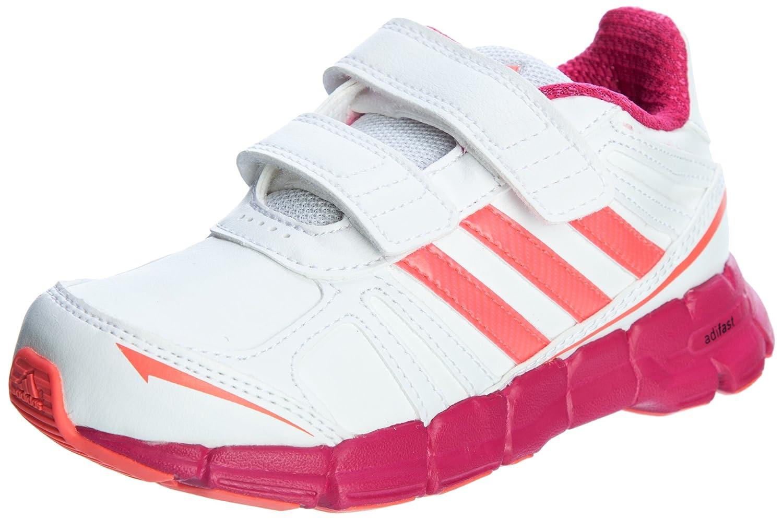 Adidas adifast Syn CF K Kinderschuhe Klettverschluss Weiss