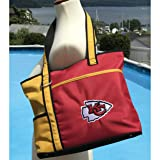 NFL Kansas City Chiefs Tote Bag with Embroidered