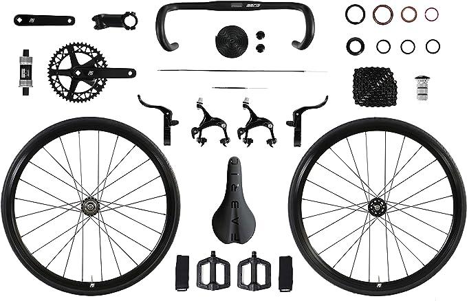 FabricBike Aero - Kit Completo de componentes para Bicicleta Fixie ...