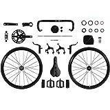 FabricBike Aero - Manillar de Aluminio para Bicicleta Fixie, Fixed ...