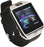 Aipker 1.56-Inch Touch Screen Smart Watch Phone with Camera for Andriod SmartPhones - Golden AK-09 Silver