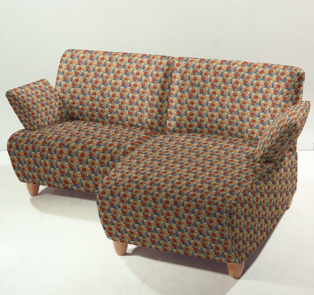 Popurrí que Miró, azul naranja rojo - tela de la tapicería moderna, tela de tapicería, tapicería, tela, tela de la cortina, tela - estampados Microvelour ...