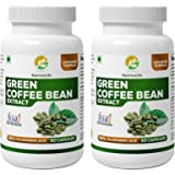 Nutrinelife Pure Green Coffee Bean Extract Weight Loss Pill For Men And Women 800 Mg 60 Veg Cap (Pack Of 2)