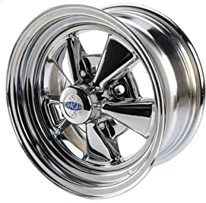 Cragar CRR-61714: Wheel, Super Sport, Steel, Chrome, 14 in. x 7 in., 5 x 4.5/4.75/5 in. Bolt Circle, 4.125 in. Backspace, Each