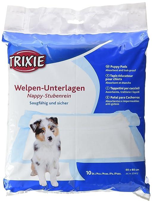 Trixie pañal cachorro 50 Pad, 60 x 40 cm: Amazon.es: Productos para mascotas