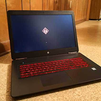 HP Omen 17t - i7-7700HQ, 16GB 1TB,4GBGTX 1050Ti , FHD (1920x1080) Back-lit  Keyboard DVDRW, Windows10