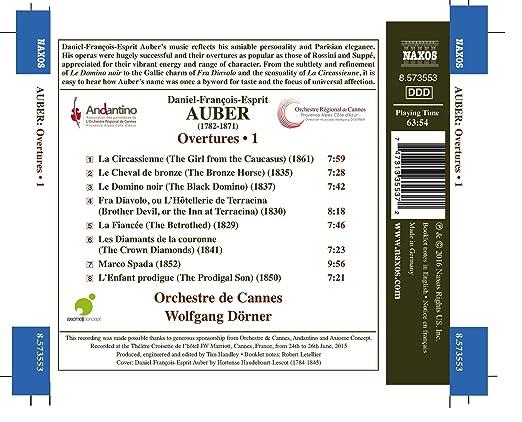 Auber - opéras 81h4aQW2ahL._SX522_