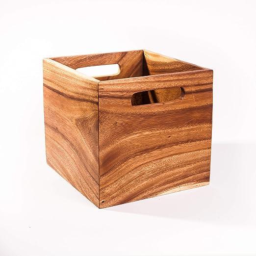 FairEntry - Estante de Madera para IKEA Kallax, Expedit, Besta; Caja de Madera: Amazon.es: Hogar