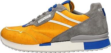 Replay GMS68.240 - Zapatillas deportivas amarillas para hombre GMS68.240.C0027T amarillo 43: Amazon.es: Ropa y accesorios