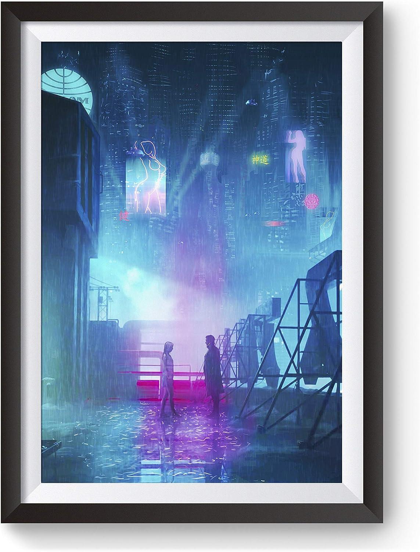 eGloop Blade Runner Painting Poster   Prints   Blade Runner 2049   #M6