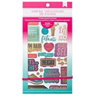American Crafts 2124 Piece Fitness Sticker Books