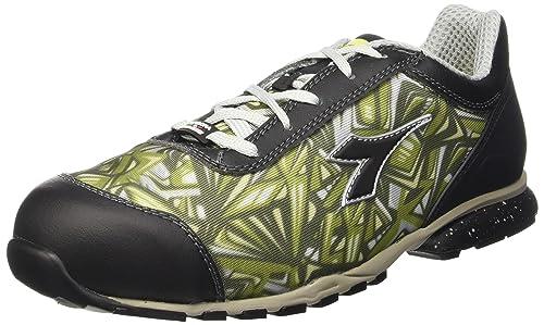 Diadora Unisex D-399 Textile Low S1P HRO SRC Zapatos de Seguridad Gris Size: