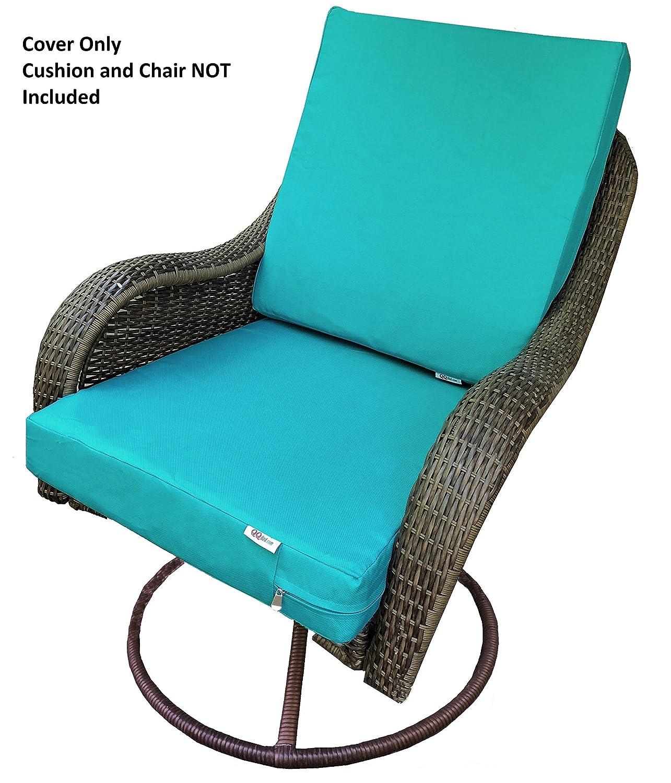 Amazon.com: QQbed - Fundas de cojín lavables para sillas de ...