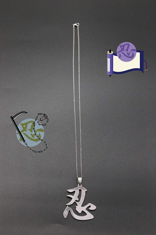 Kurop - Collar con Colgante de Acero Inoxidable con el ...