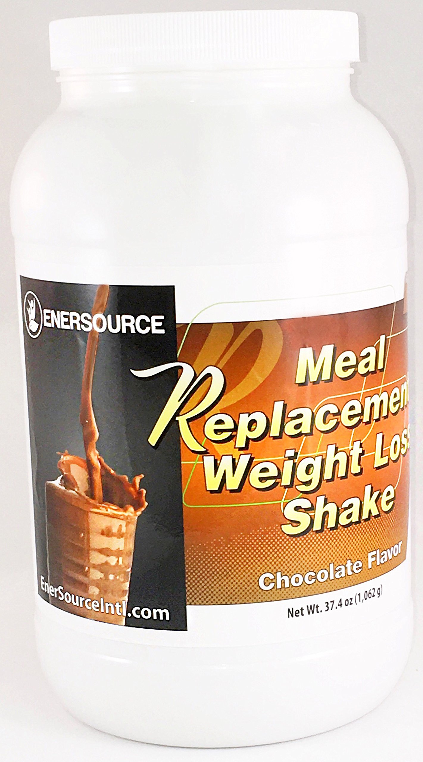 EnerSource Meal Replacement Chocolate Weight Loss Shake with over 26 Vitamins and Minerals and 31g of Protein