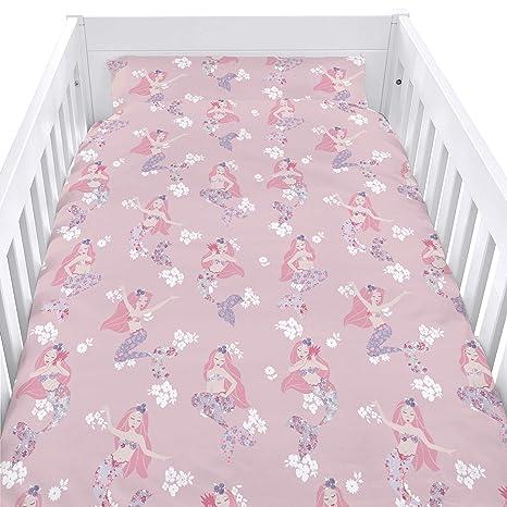 Woodland Fox 90cm x 120cm Childrens Cot Duvet Cover and Matching Pillowcase Set