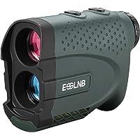 ESSLNB Telemetro Golf Laser Caza Impermeable 7X Telémetro Láser Golf con Pendiente Asta de Bandera Bloquear Ángulo…