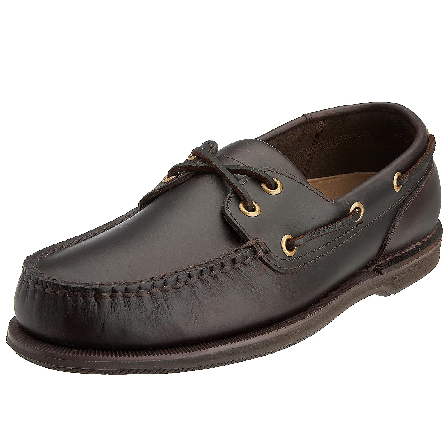 Rockport Ports of Call Perth K54692  Herren Bootsschuhe  Braun (DK BROWN PULL UP)  EU 44 (UK 9.5) Braun (Dk Brown Pull Up)