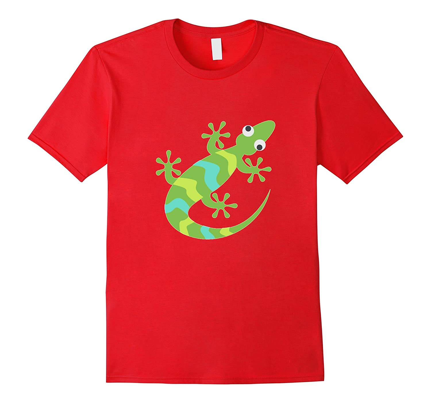 Lizard Emoji T-Shirt Iguana Nature Reptile Animal Camouflage-TH