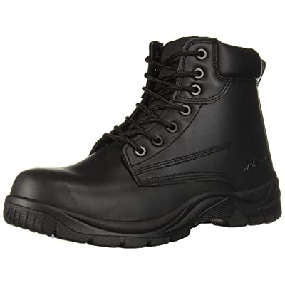 AdTec Men's Industrial Work Boot Composite Safety Toe, Black, 9 M US | Boots