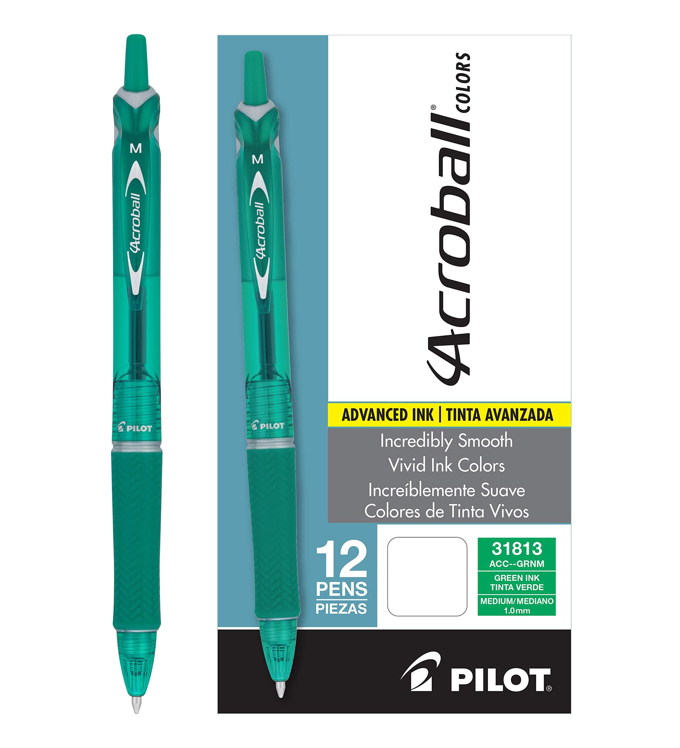 Pilot Acroball Colors Bolígrafos retráctiles avanzados de ti