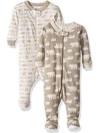 Gerber Baby Boys 2 Pack Footed Sleeper