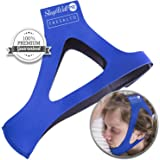 SleepWell Pro (2017) Stop Snoring CPAP Chin Strap & Anti Snoring Solution Snore Stopper Jaw Supporter Device