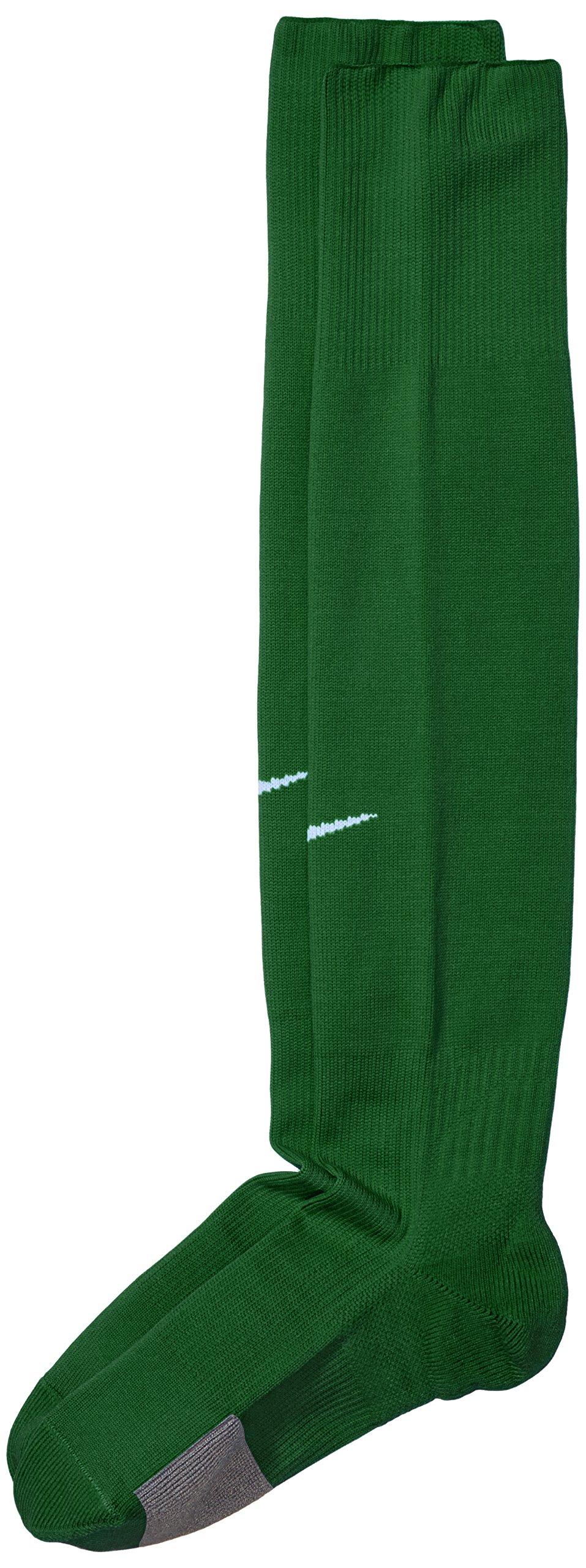 NIKE - Calcetines de fútbol para hombre, color verde (pine green/white)