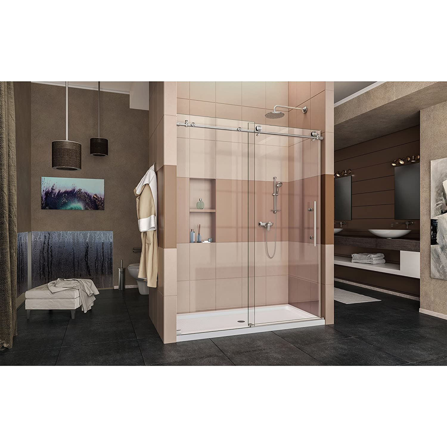 fully frameless in technical drawings to sliding shower enigma doors shdr x dreamline door