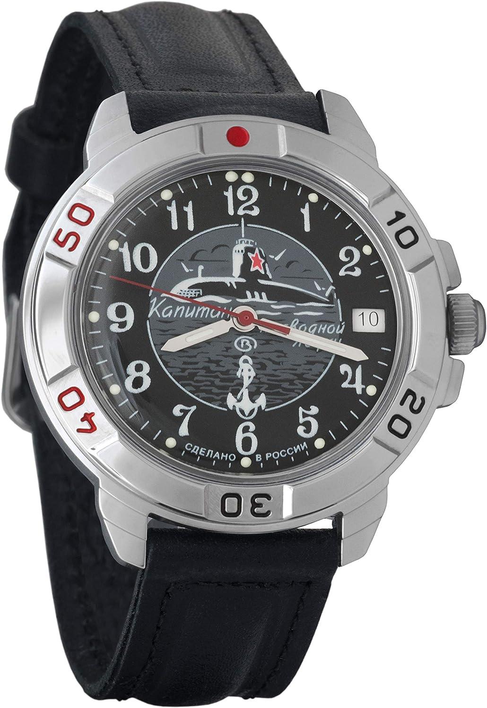 Vostok Komandirskie 2414 Hand-Winding Mechanical Russian Military Mechanical Watch // 431831