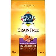 Nature'S Recipe Grain Free Dry Dog Food Lamb, Sweet Potato & Pumpkin Recipe