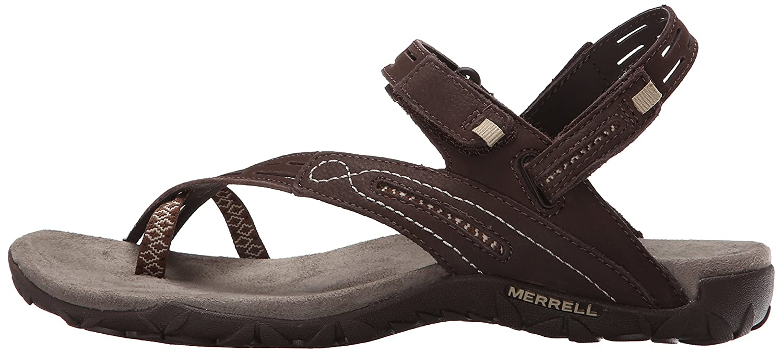 Merrell Women's Terran Convertible II Sandal B00YDI3DLS 5 B(M) US Dark Earth
