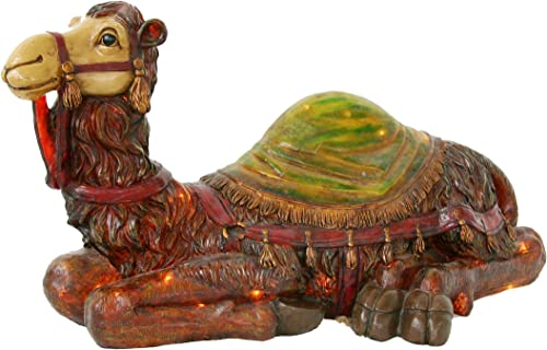 Barcana Illuminated Fiberglass, Nativity Camel