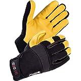 SKYDEER Deerskin Leather Work Gloves Hi-Performance Utility Mechanic Work Glove